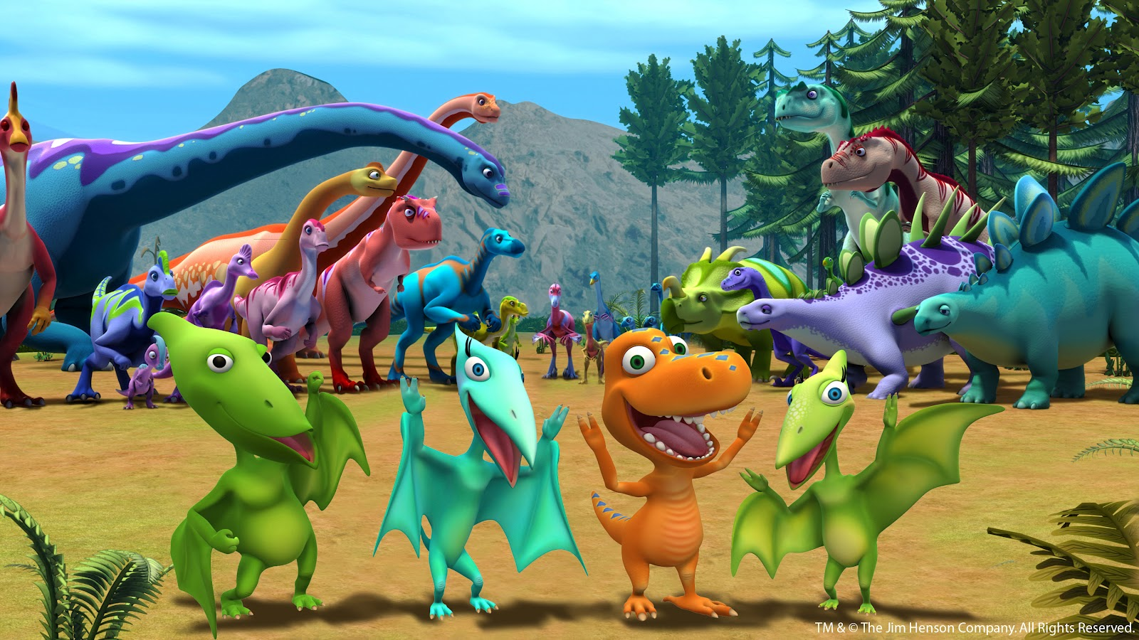 Dinosaur Train Wallpaper