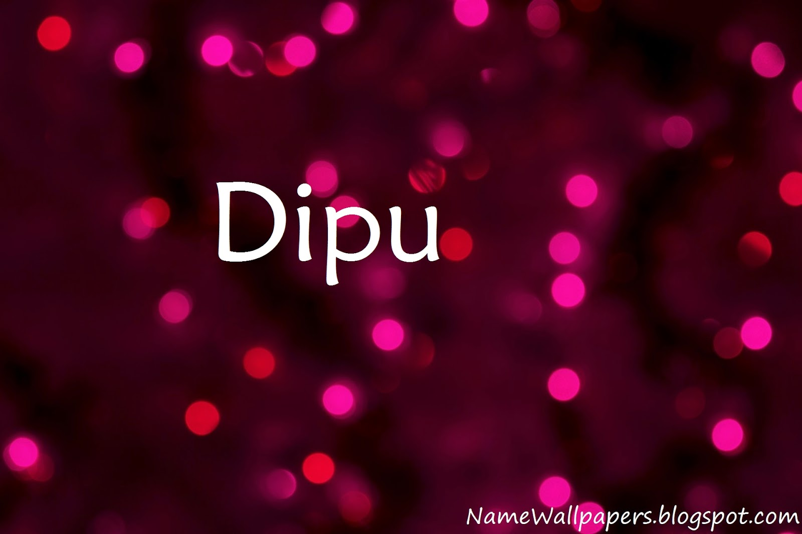Dipu Name Wallpaper