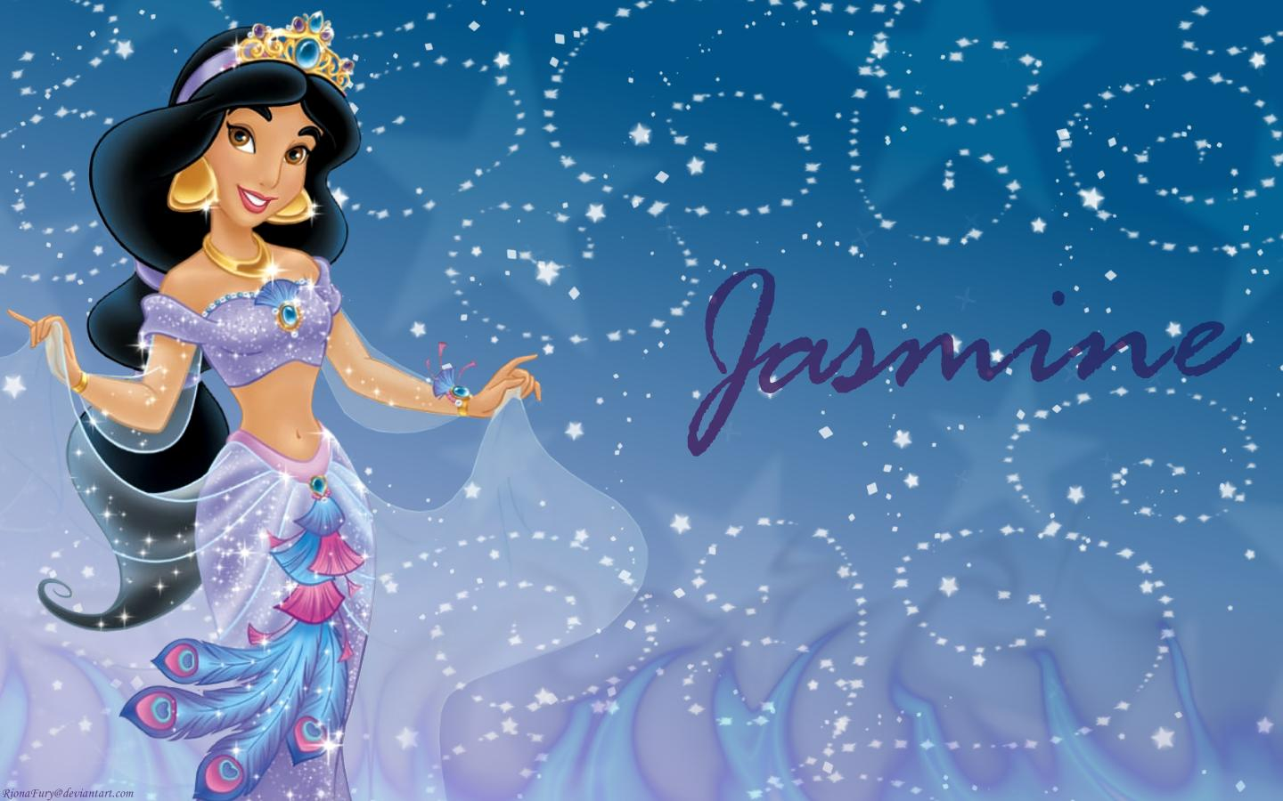 Disney Jasmine Wallpaper