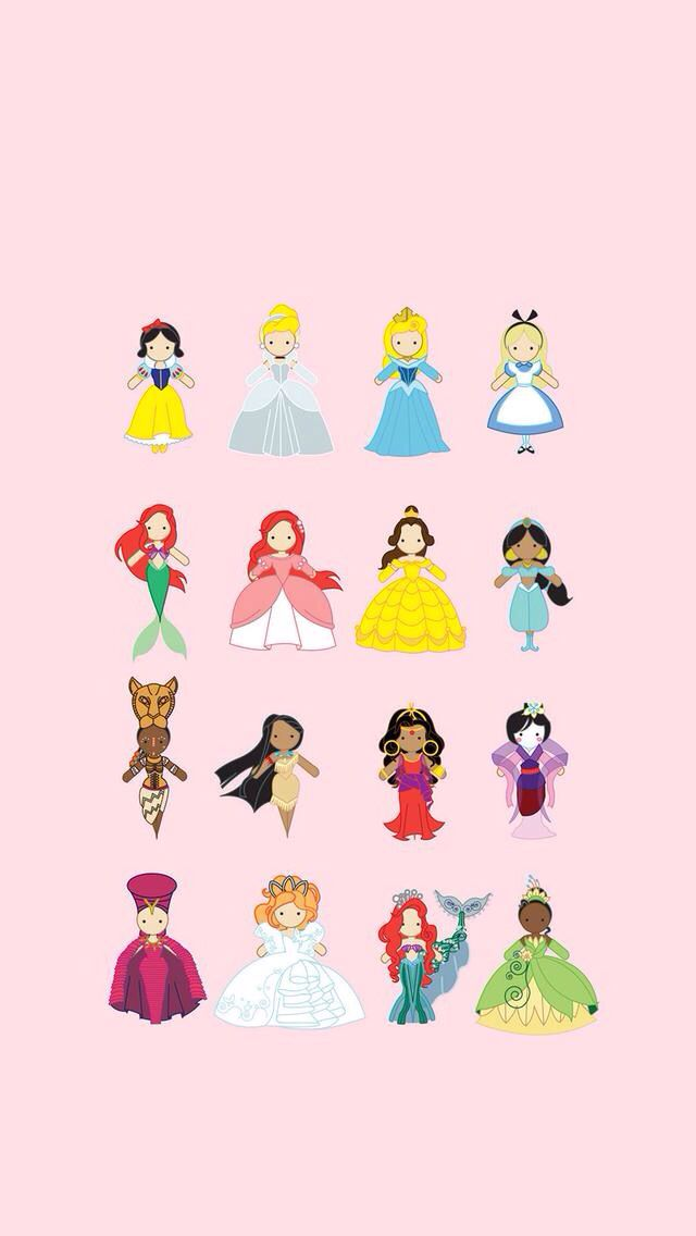 Disney Princess Iphone Wallpaper