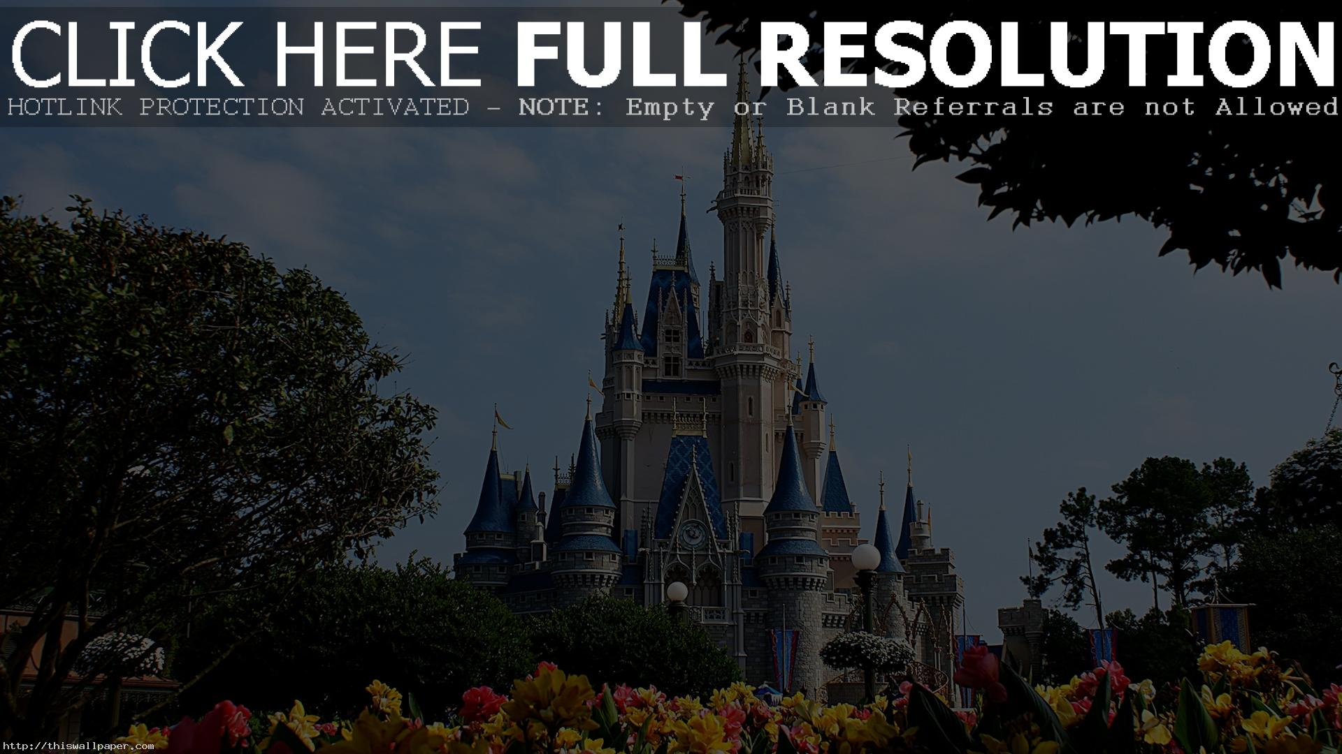Disney World HD Wallpaper