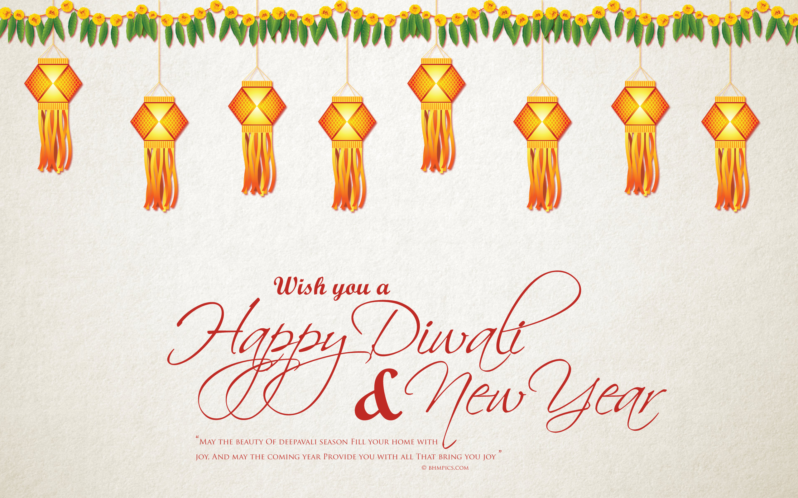 Diwali New Year Wallpaper
