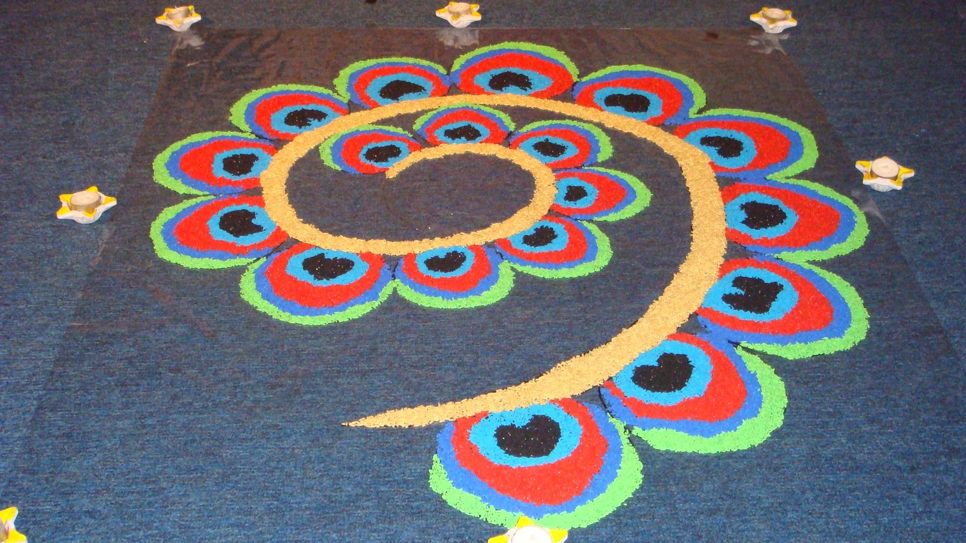 Diwali Rangoli Designs Wallpapers