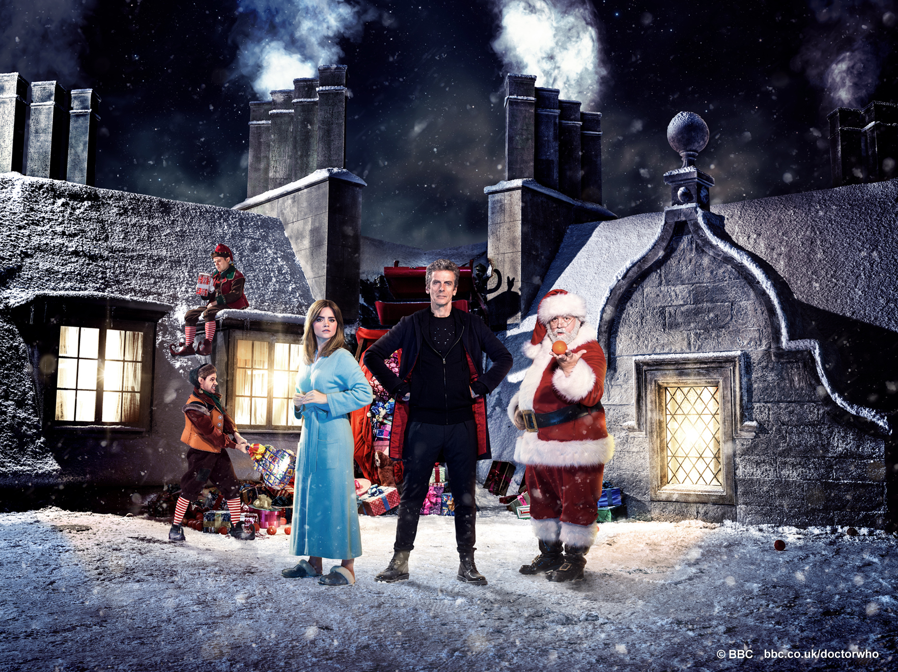 Doctor Who Christmas Wallpaper