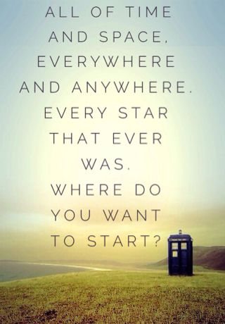 Doctor Who Quote Wallpaper