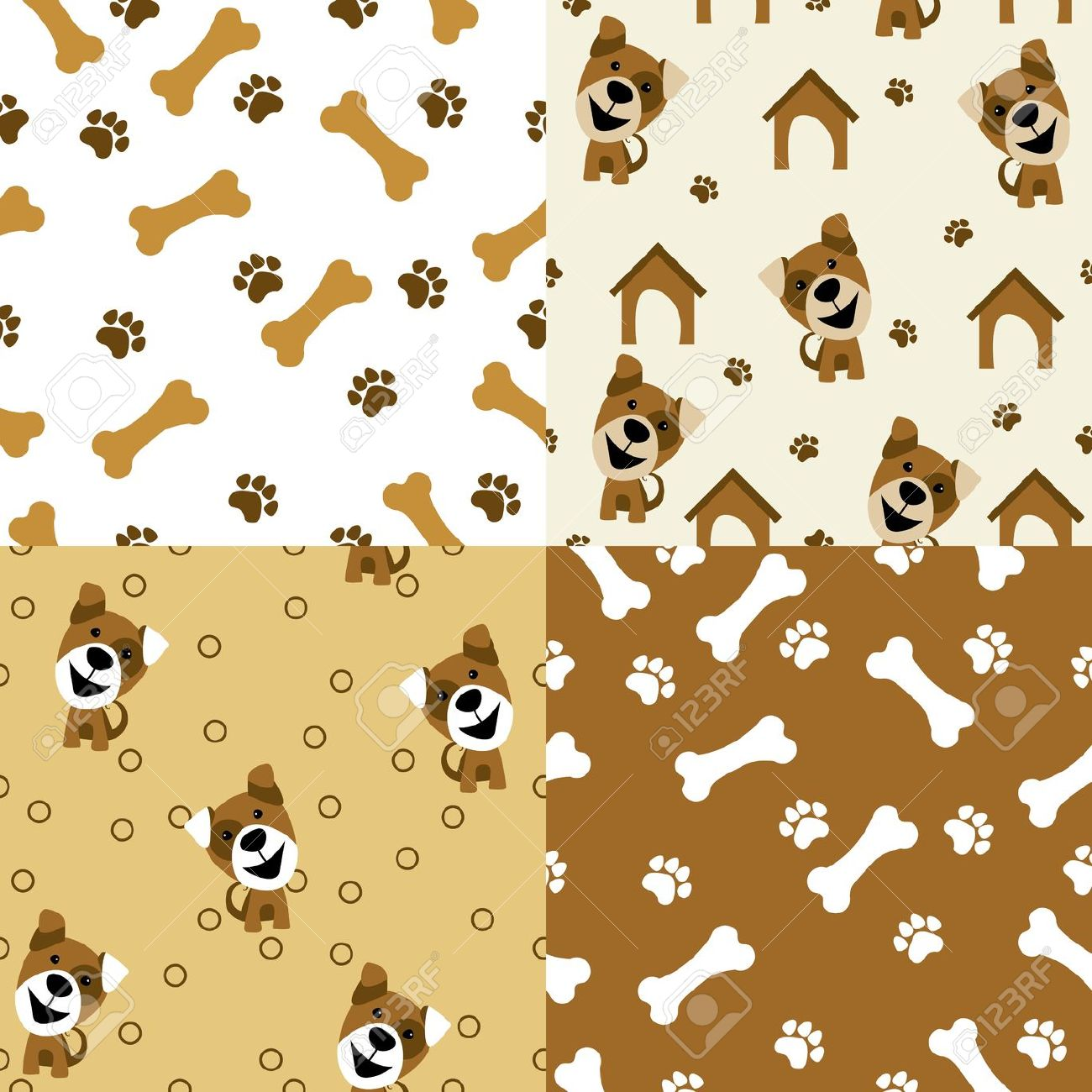 Dog Cartoon Wallpaper