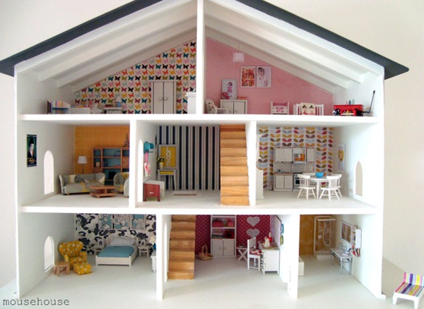 Dolls House Wallpaper Uk
