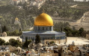 Dome Of The Rock Wallpaper