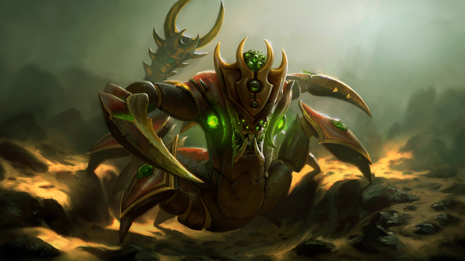 Dota 2 Sand King Wallpaper