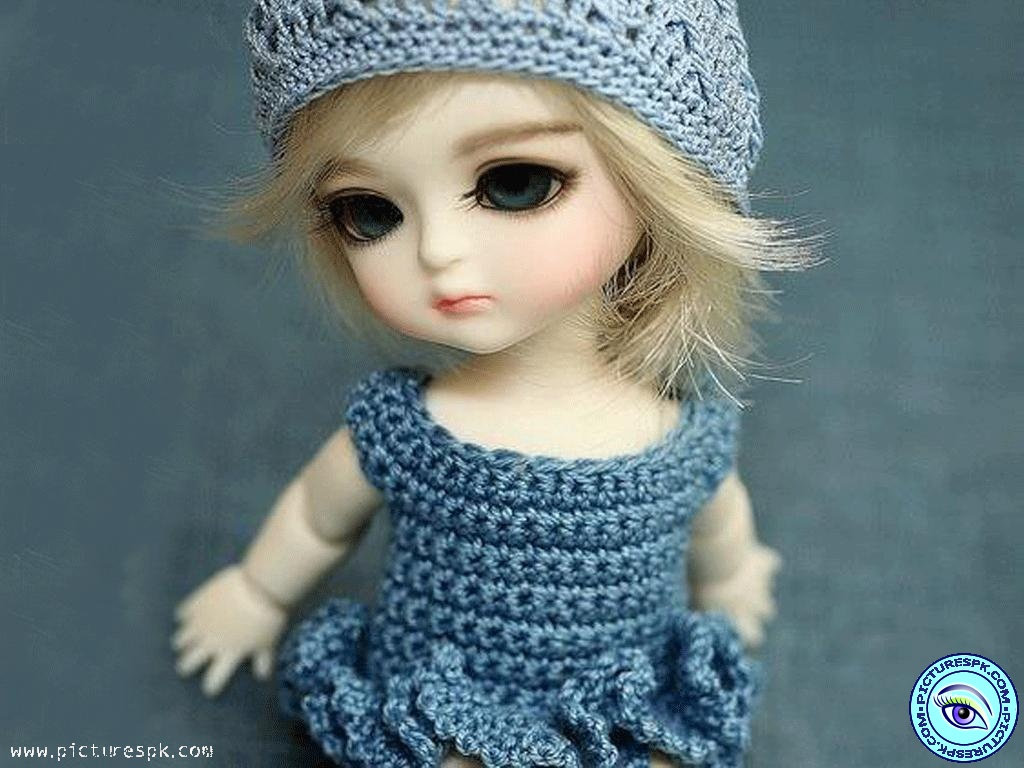 Download Cute Doll Wallpaper