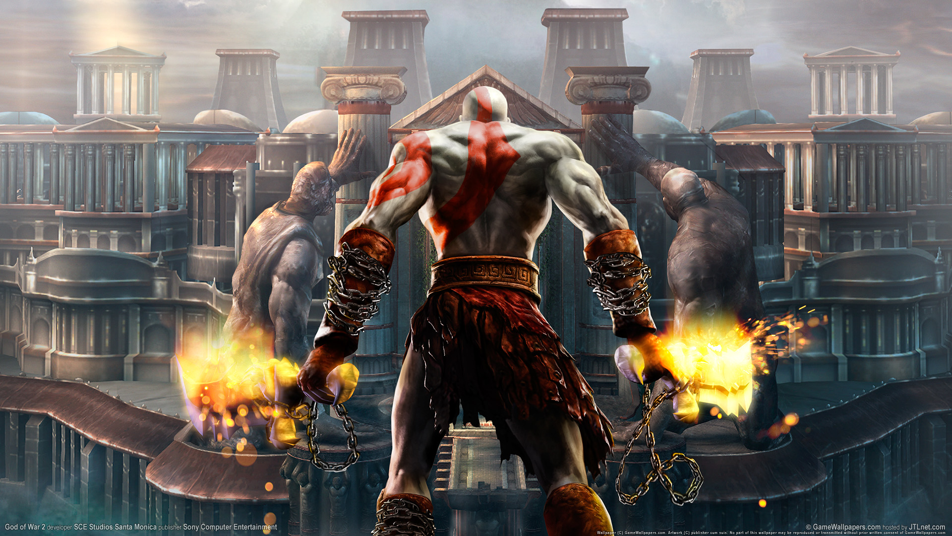 Download God Of War HD Wallpaper