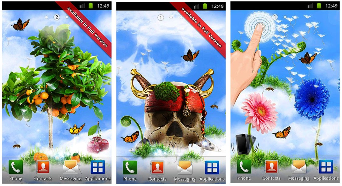 Download HD Live Wallpapers For Android