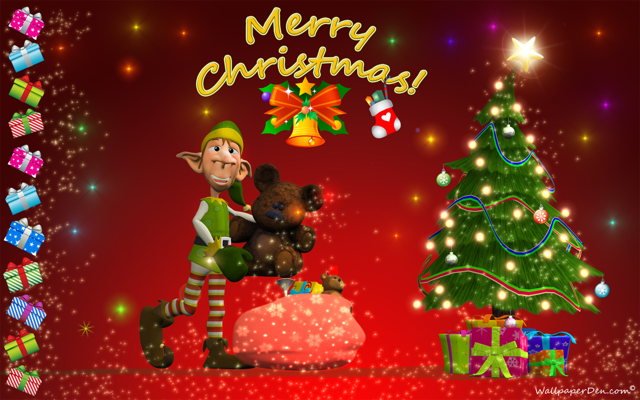 Download Merry Xmas Wallpaper