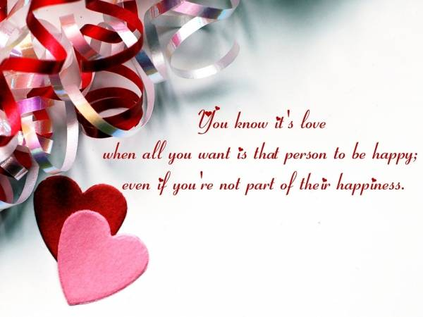 Download Wallpaper Of Love With Quote