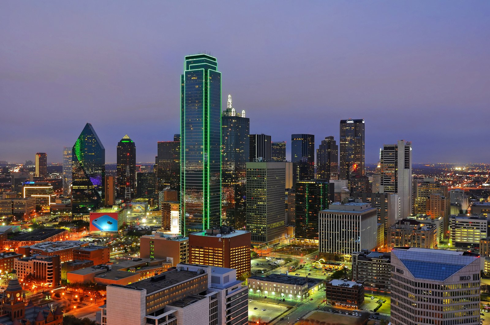 Download Downtown Dallas Wallpaper Gallery