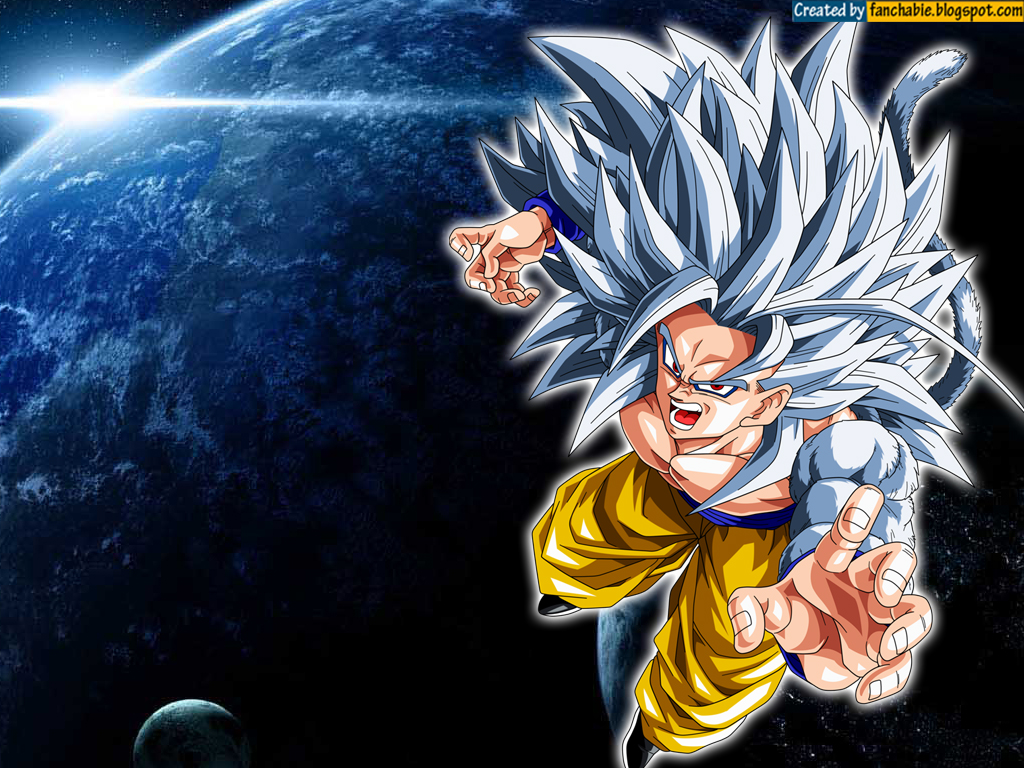Dragon Ball Z Goku Super Saiyan 5 Wallpapers