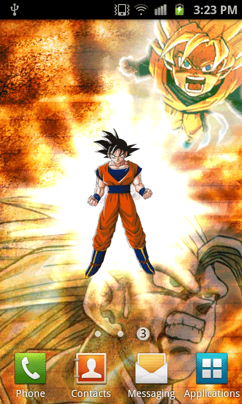 Dragon Ball Z Live Wallpaper Apk