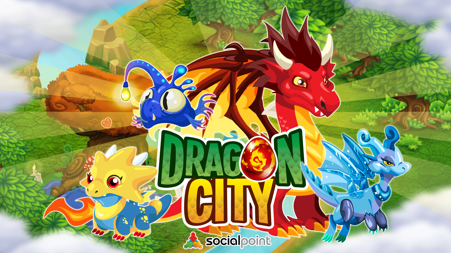 Dragon City Wallpaper