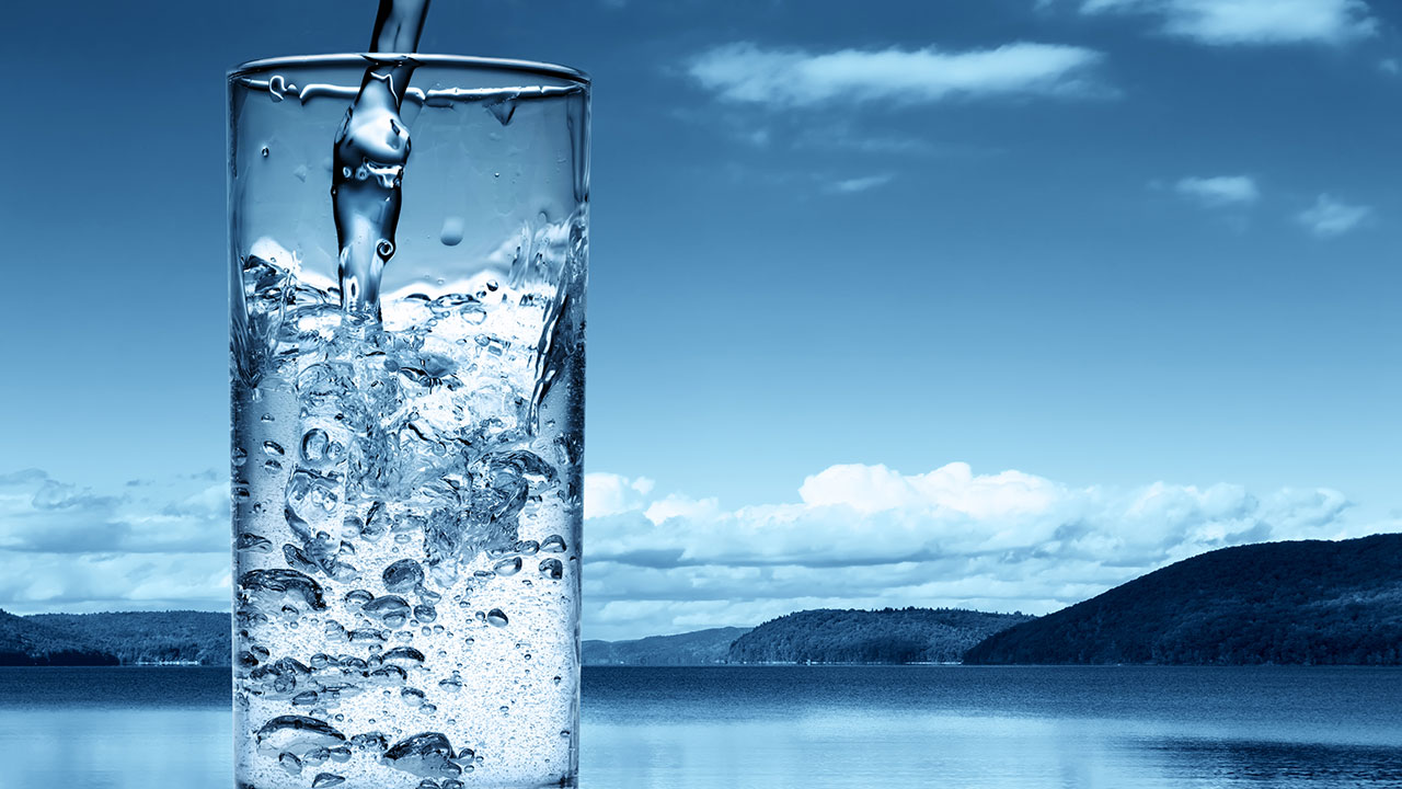 Drink Water Wallpaper