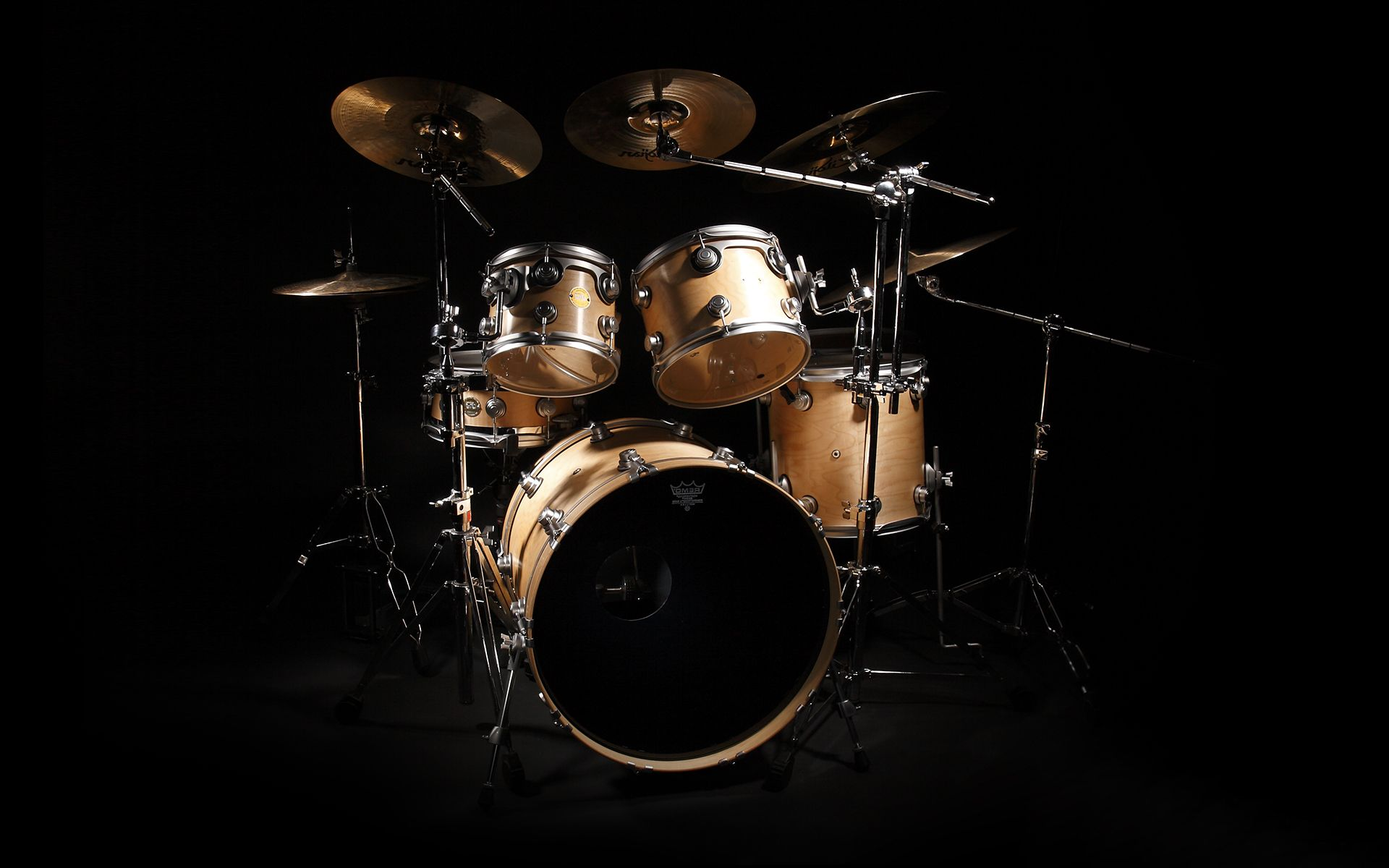 Drum Set HD Wallpaper