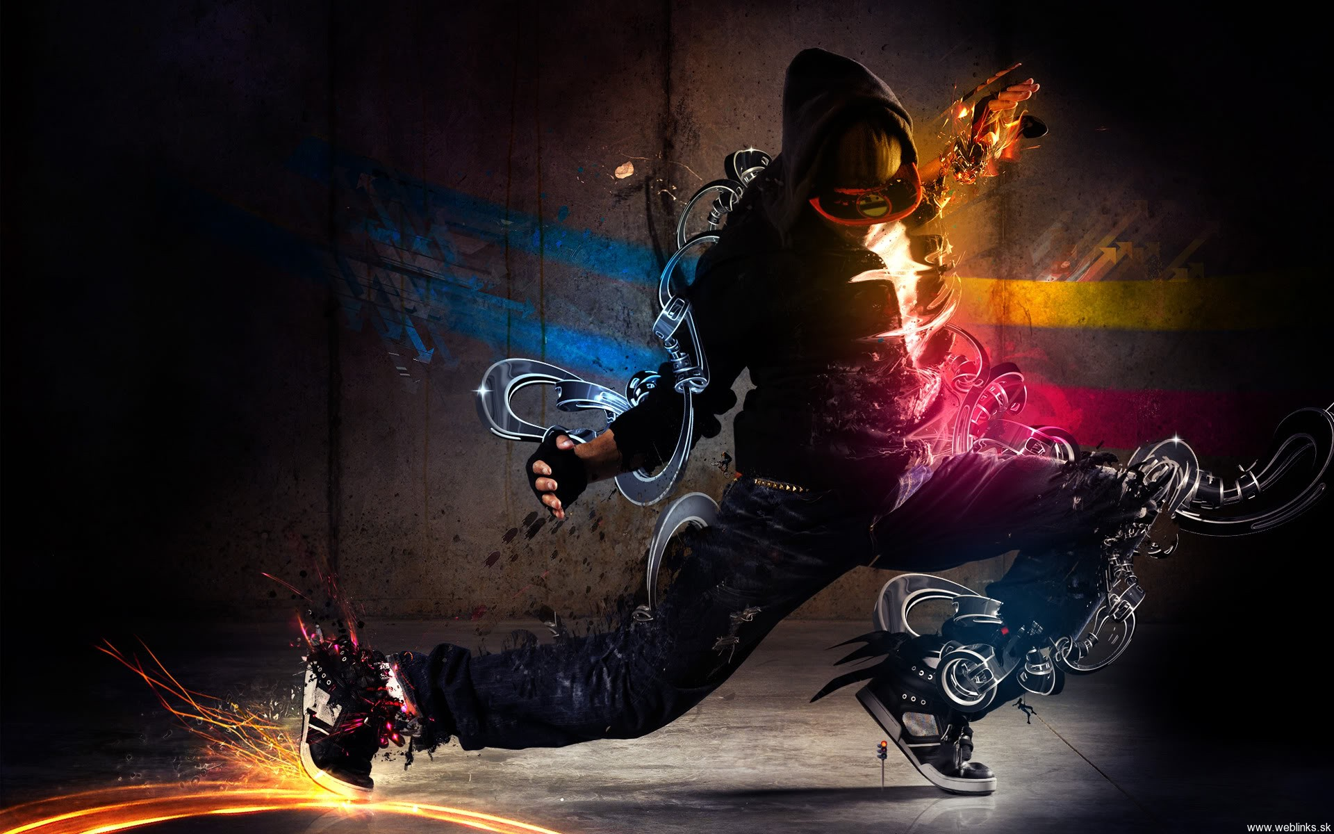 Dubstep Dance Wallpaper