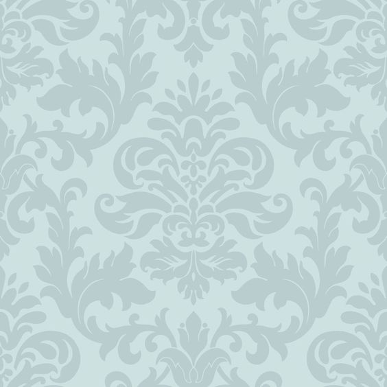 Duck Egg Blue Feature Wallpaper