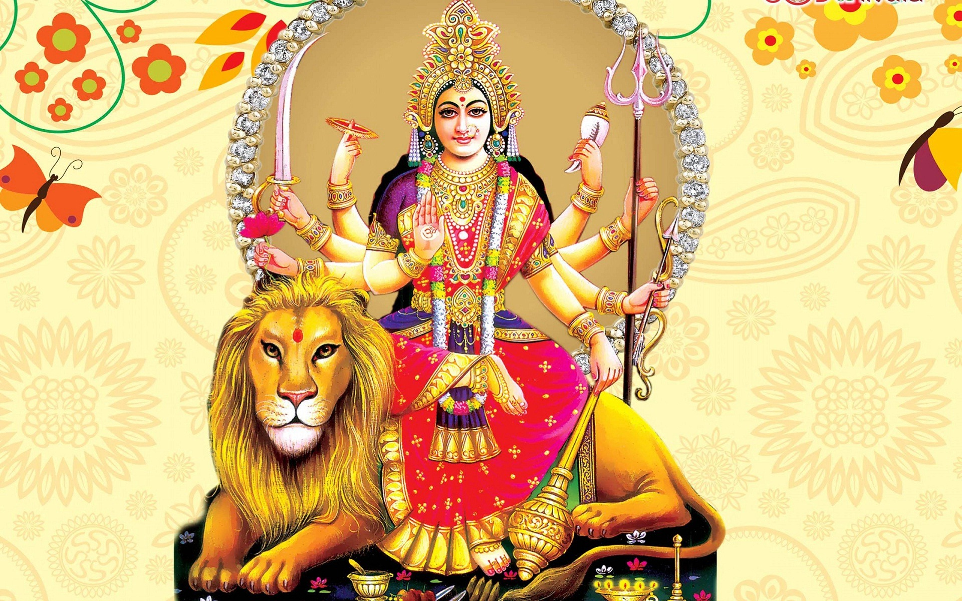Durga Maa Wallpaper Free Download