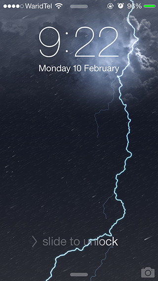 Dynamic Weather Wallpaper