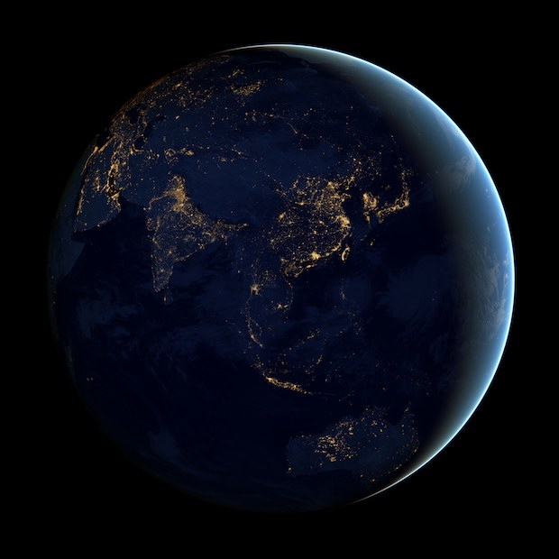 Earth Night Wallpaper