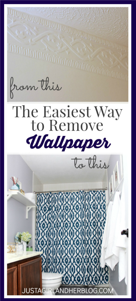 Easy Way To Remove Wallpaper