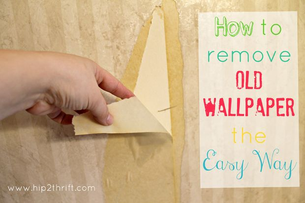 Easy Way To Take Wallpaper Off