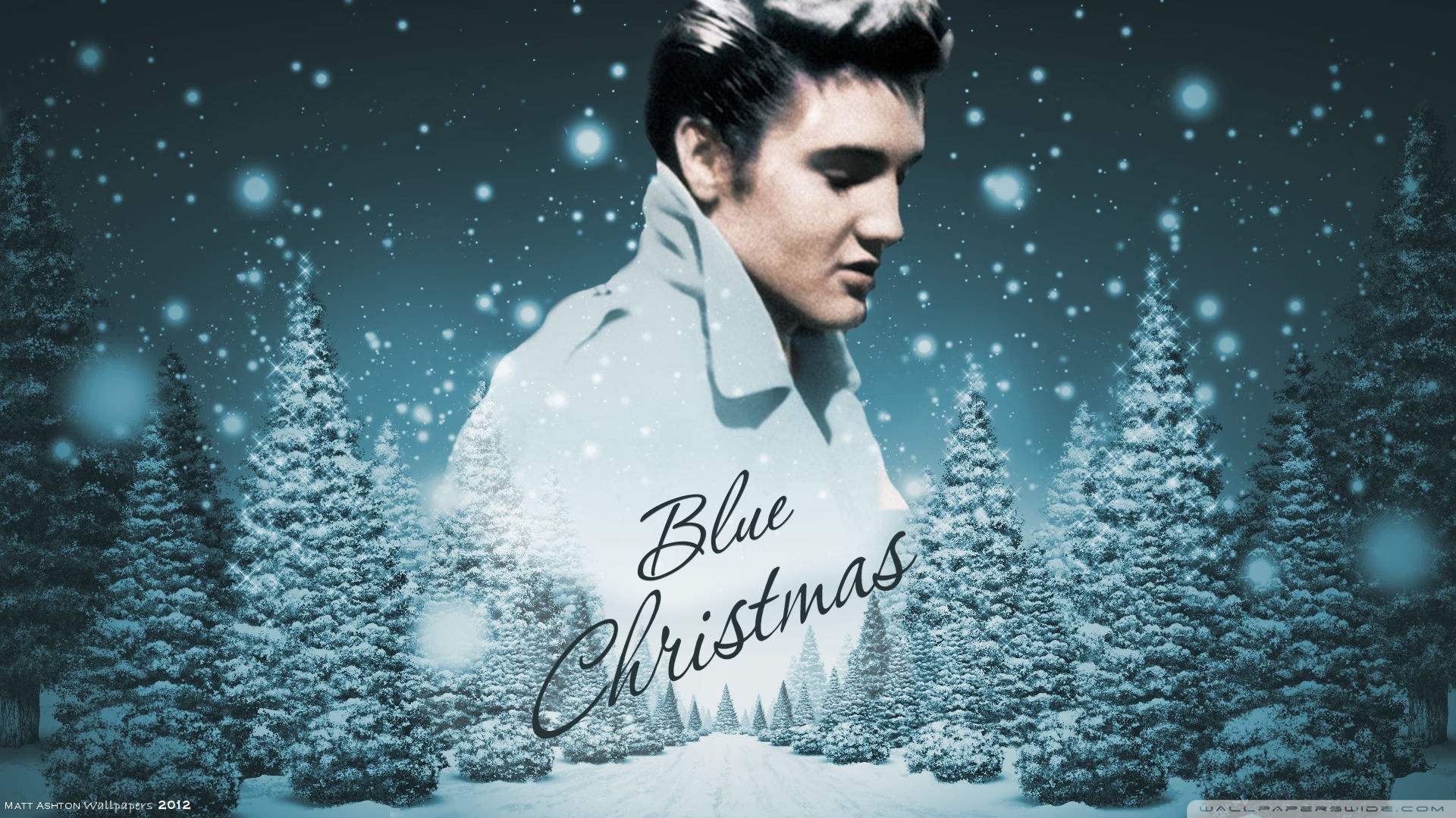 Elvis Presley Christmas Wallpaper
