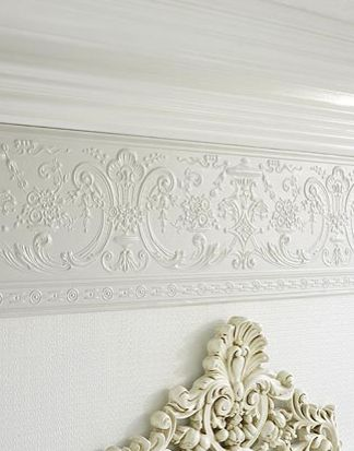 Embossed Wallpaper Border