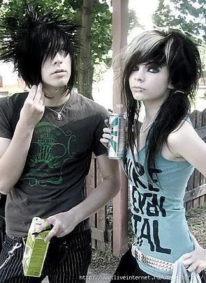 Emo Couple Wallpapers Love