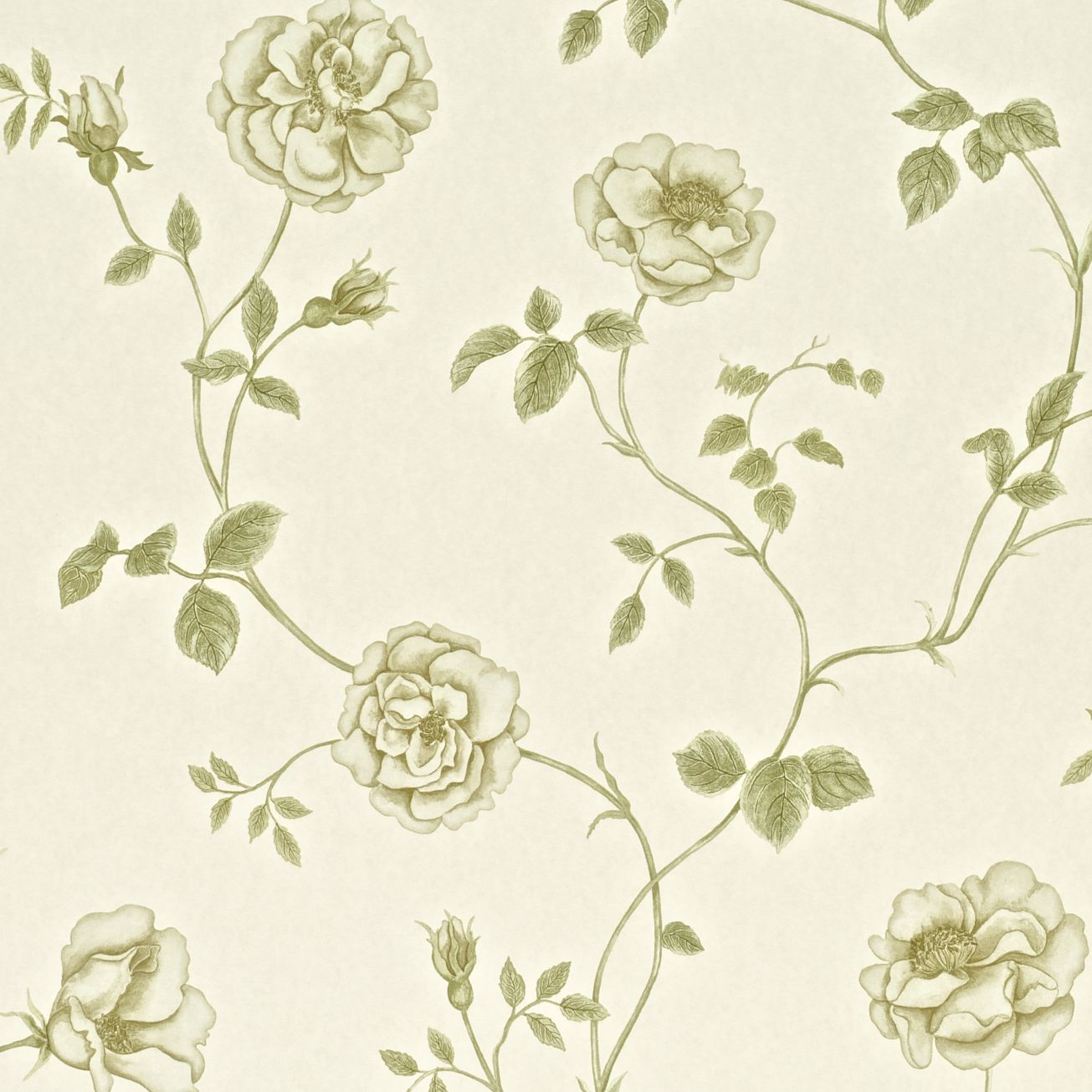 English Vintage Wallpaper