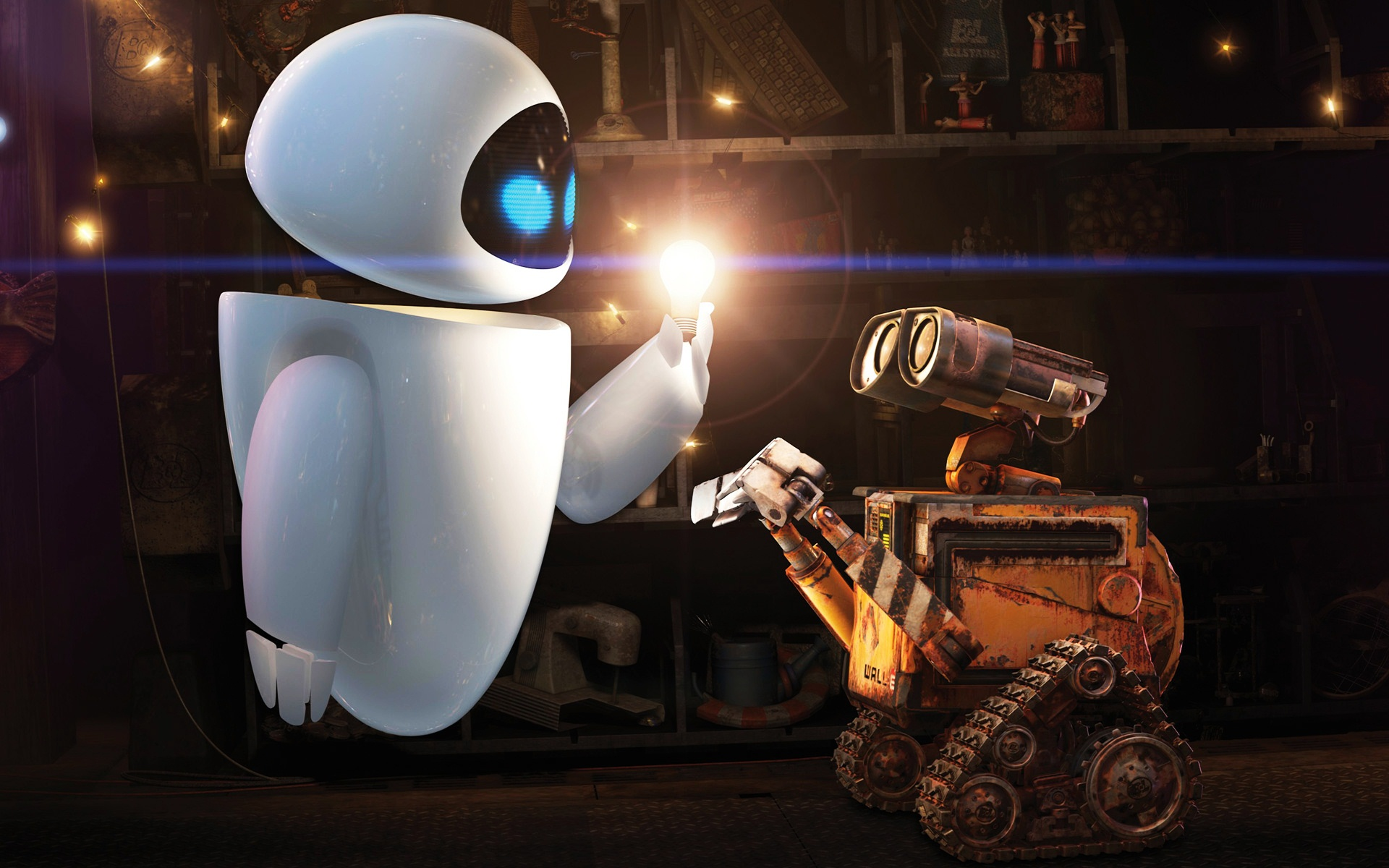Eve Wall E Wallpaper