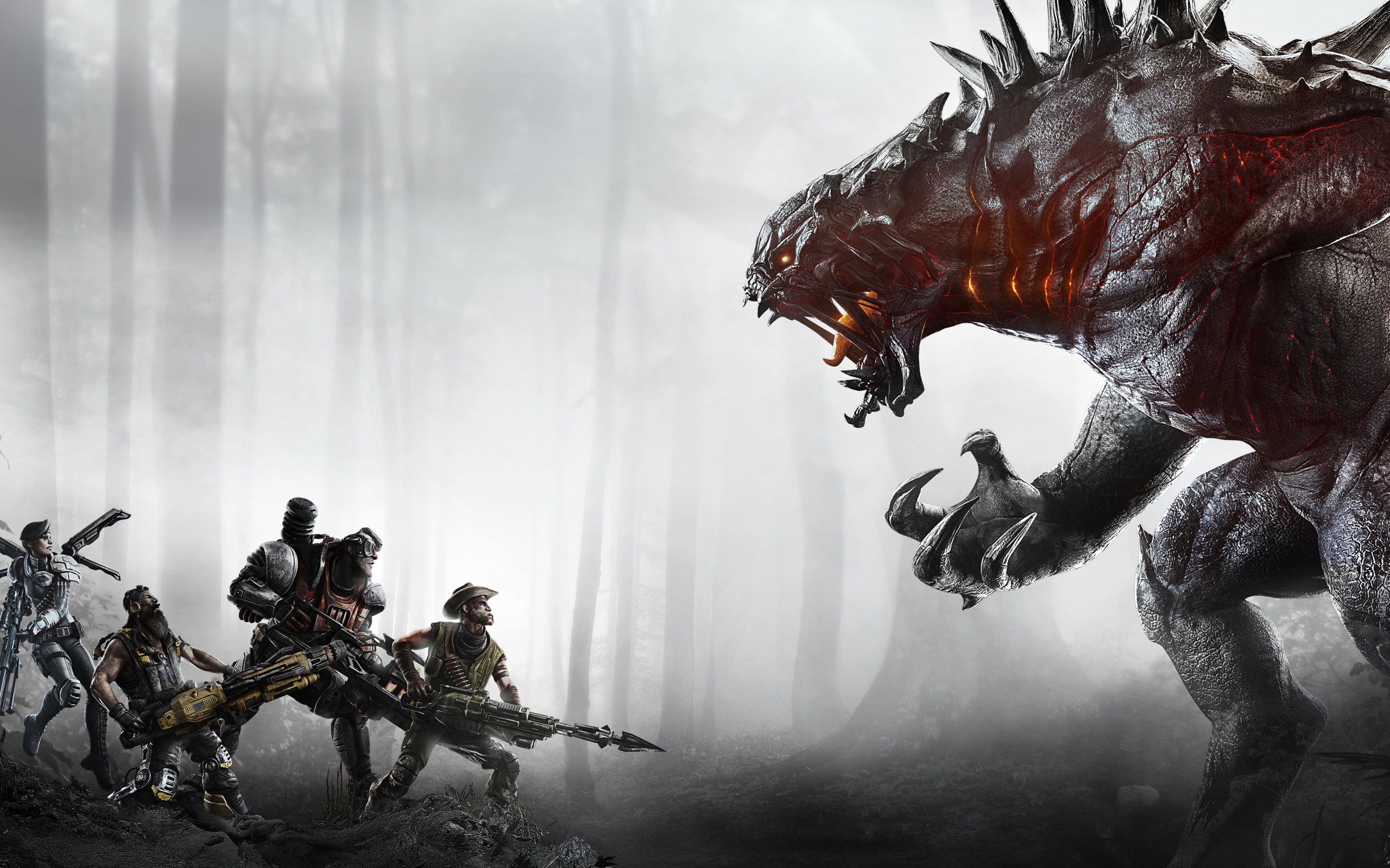 Evolve Game Wallpaper