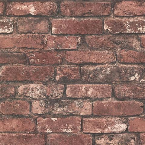 Exposed Brick Wallpaper