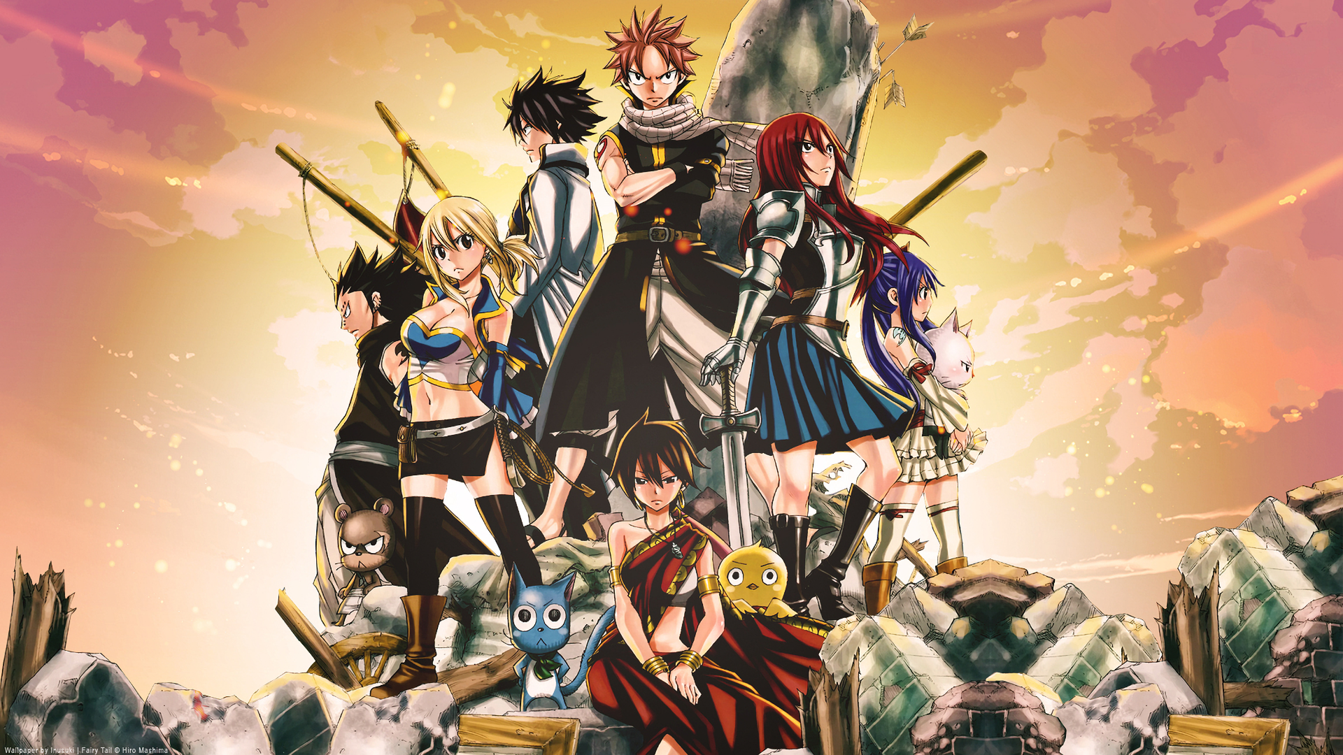 Fairy Tail Desktop Wallpaper