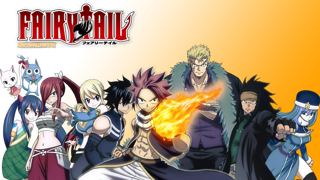 Download Fairy Tail Group Wallpaper Gallery
