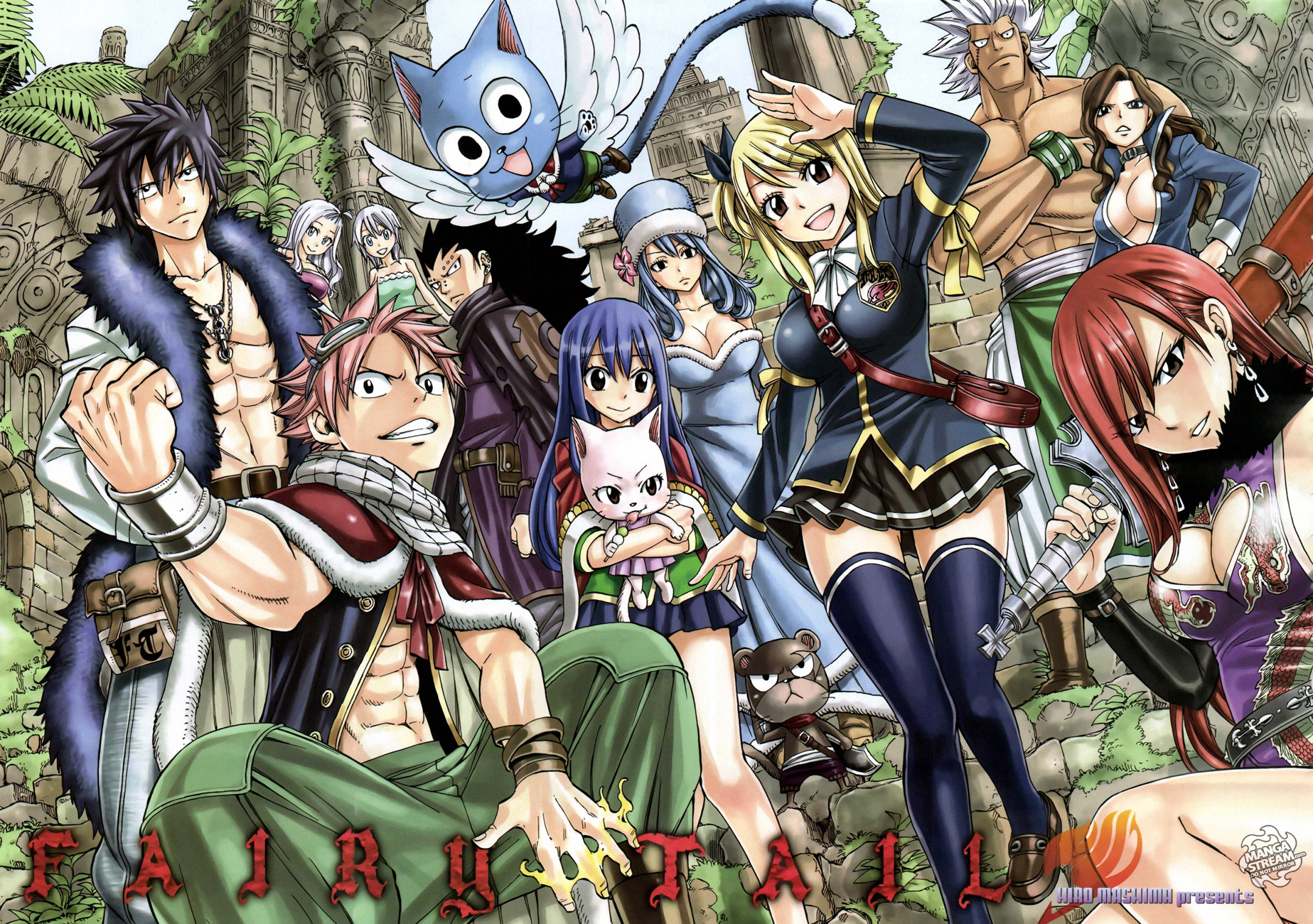 Fairy Tail Group Wallpaper