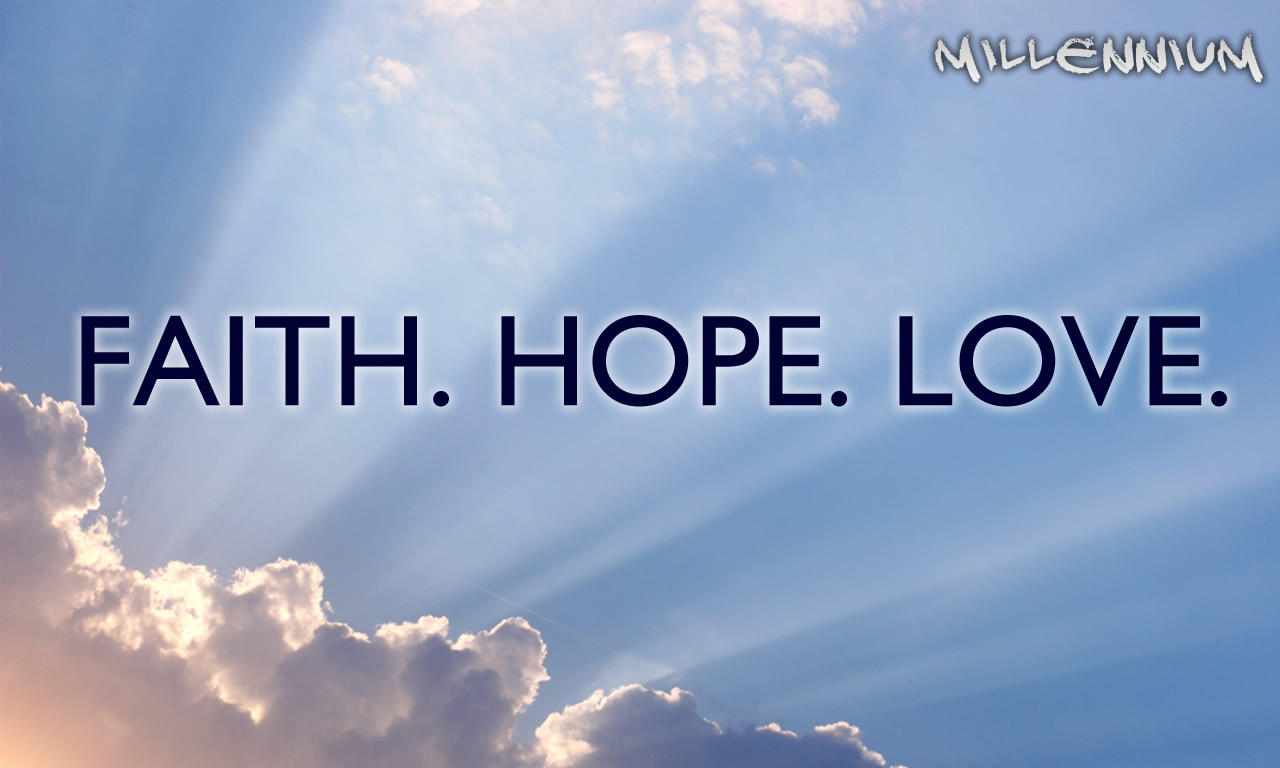 Faith Hope And Love Wallpaper