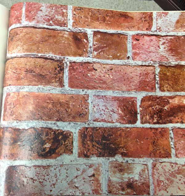 Fake Brick Wallpaper