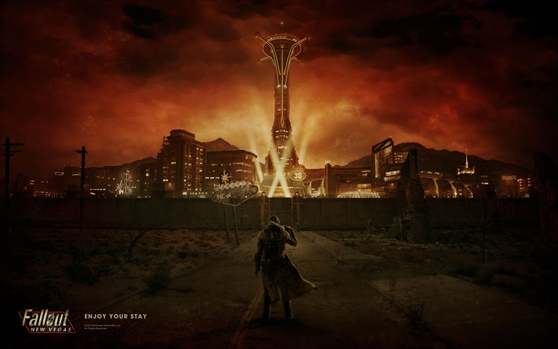 Fallout New Vegas Desktop Wallpaper