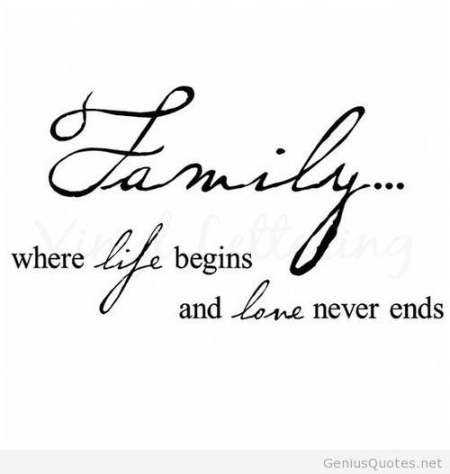 Family Wallpapers With Quotes