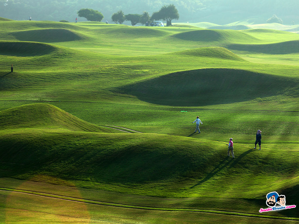 Famous Golf Holes Wallpaper