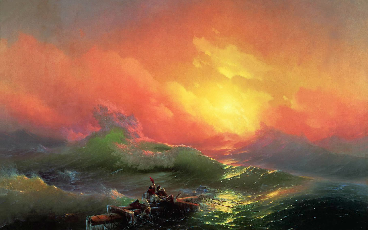 Famous Paintings As Wallpapers
