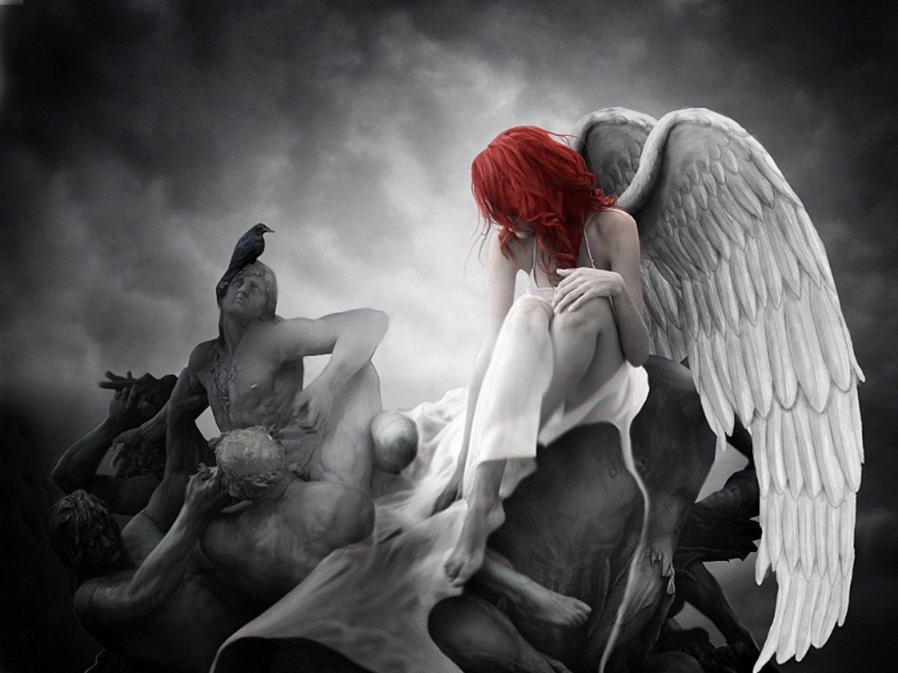 Fantasy Wallpapers Of Angels