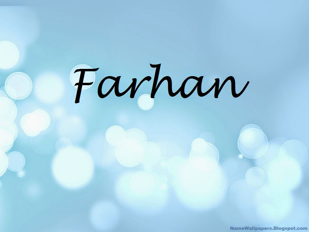 Farhan Name Wallpaper