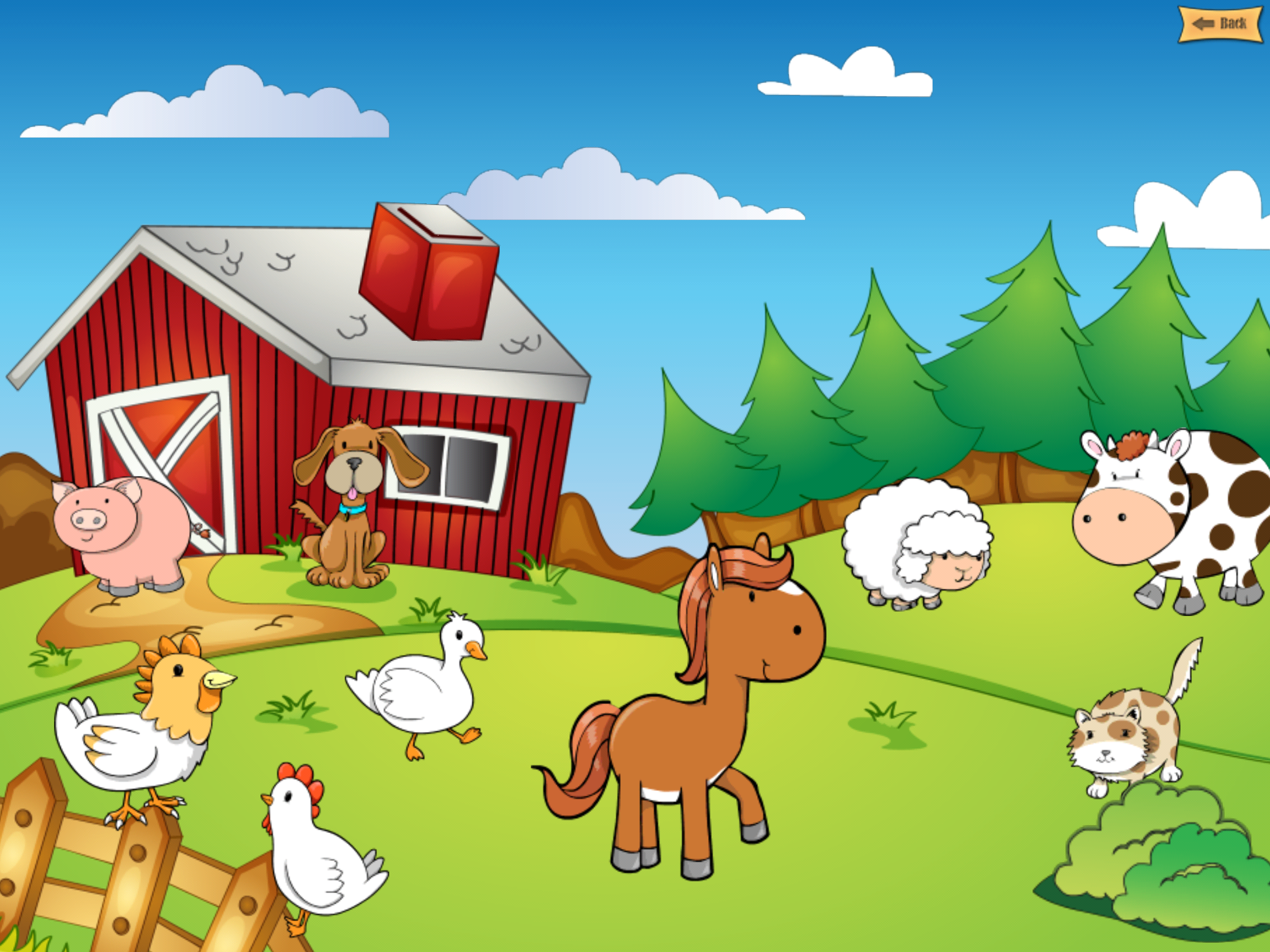 Farm Wallpaper For Kids